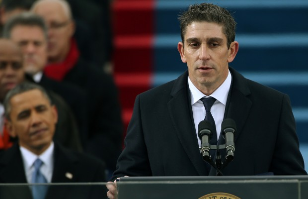 Maine Poet Richard Blanco Reads Inaugural Poem