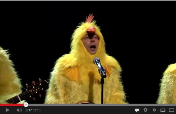 Jimmy Fallon and The Chickeneers