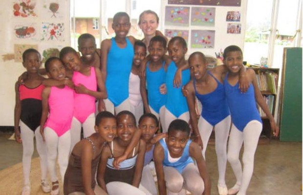 Maine high school student brings ballet to Tanzania!