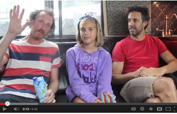Kids interview Guster