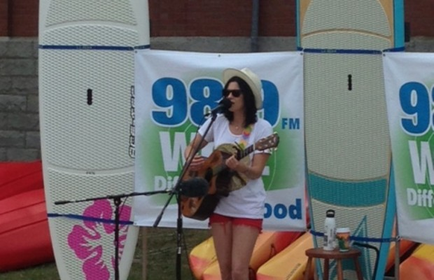 Tristan Prettyman – Studio Z at L.L. Bean – August 17, 2013