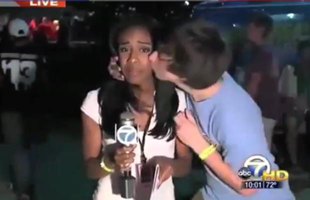 The Year in TV News Bloopers (warning-language)
