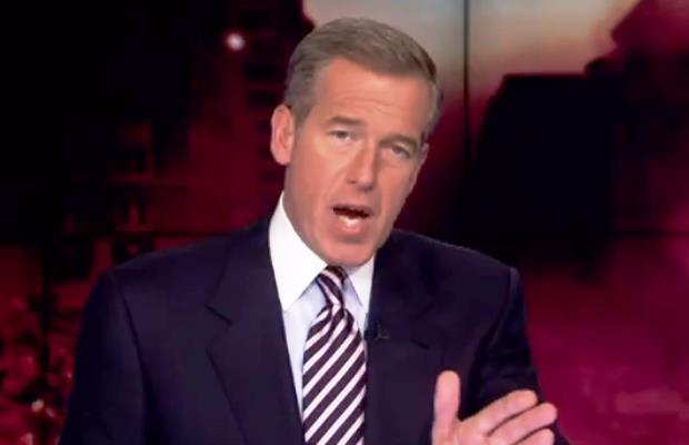 Brian Williams Raps the News on the Tonight Show