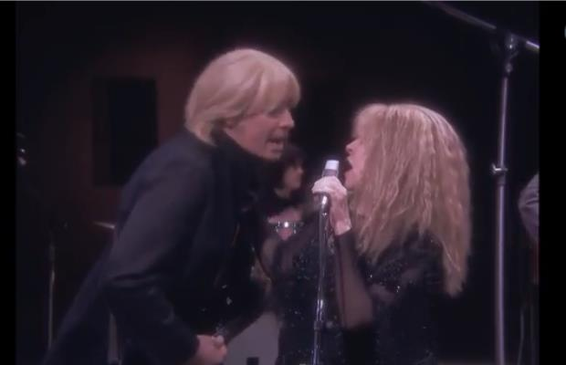Jimmy Fallon as Tom Petty with Stevie Nicks